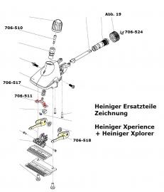 Heiniger Ersatzteile für Heiniger Xperience und Xplorer - siehe Beschreibung, Auswahl