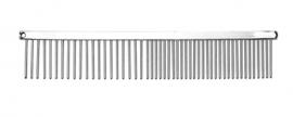 Metallkamm -Grob &  Mittel - 18 cm
