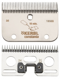 Schermesser CONSTANTA KERBL 20 (ähnlich LISTER / LISCOP LI A 2) Schnitthöhe ca. 3 mm, AR2