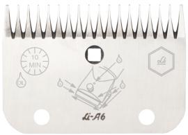 LI A 6 LISTER / LISCOP Schermesser - Untermesser