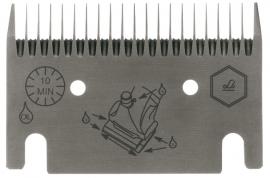 LI 106 LISTER / LISCOP Schermesser - Untermesser