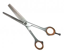 Effilierschere / Modellierschere 16,5 cm, 32 Zähne, 6,5 einseitig gezahnt