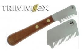 Trimmmesser TRIMM.EX® - Trimmesser schneidend, mit Holzgriff, Variantenauswahl
