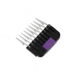 WAHL Aufschiebekämme - Aufsteckkämme, Steel Comb 6 mm - SIZE 4, aus rostfreiem Stahl