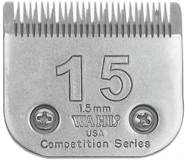 Wahl # 15, 1,5 mm 02357-116 Competition Series Scherkopf