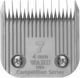 Wahl # 7, 4 mm 02367-116 Competition Series Scherkopf