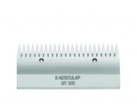 GT 505 AESCULAP Schermesser - Obermesser fein, 23 Zähne Pferdeschermesser