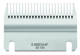 GT 510 AESCULAP Schermesser - Untermesser, 24 Zähne, 5 mm Schnitthöhe