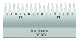 GT 503 AESCULAP Schermesser - Obermesser grob, 17 Zähne Rinderschermesser /Schafschermesser