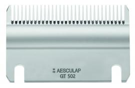 GT 502 AESCULAP Schermesser - Untermesser fein, 31 Zähne Pferdeschermesser / Rinderschermesser
