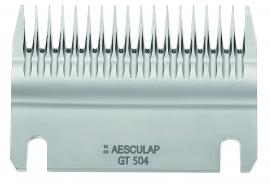 GT 504 AESCULAP Schermesser - Untermesser grob, 18 Zähne Rinderschermesser / Schafschermesser